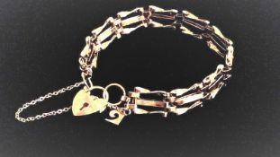 Vintage Pierre Cardin Gate Bracelet