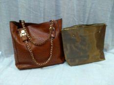 Chloe Leather Large Tote Shopper Bag