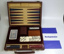 Unused Anne Carlton Traditional Game Set In Case