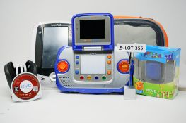 RRP £109.99 BUNDLE OF 4 Toys including VTech VSmile Cyber Pocket Blue