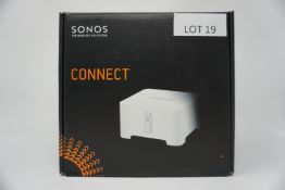 RRP £349.99 SONOS CONNECT Smart Wireless Stereo Adaptor