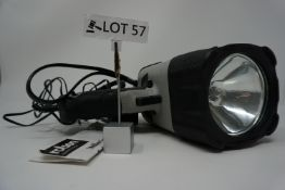RRP £49.99 Rolson Halogen Spotlight and Eight LED Lamp