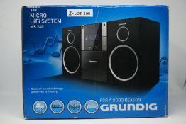 RRP £189.99 GRUNDIG MS 240 HIFI System