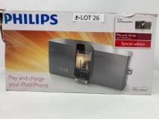 RRP £119.99 Philips docking speaker