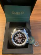 Ltd Edition Hand Assembled Gamages Hour Rotator Automatic Steel – 5 Year Warranty & Free Delivery