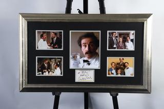 Andrew Sachs Framed Signature Presentation