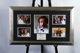 Andrew Sachs Framed Signature Presentation