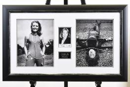 Diana Rigg Framed Presentation