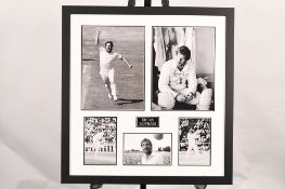 Ian Botham Framed Signature Presentation