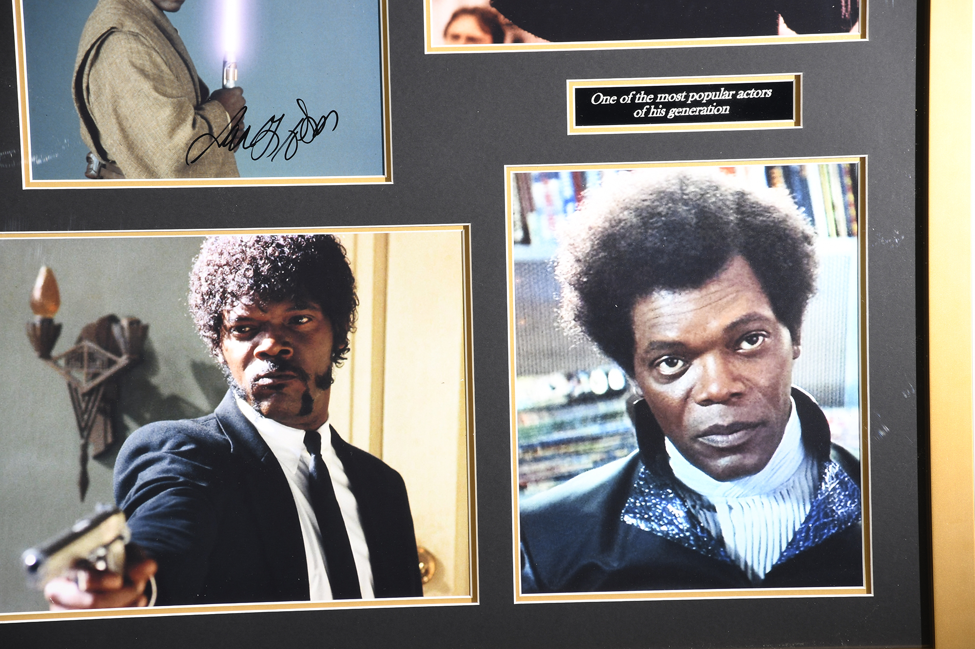 Samuel L Jackson Framed Signature Presentation - Image 4 of 4