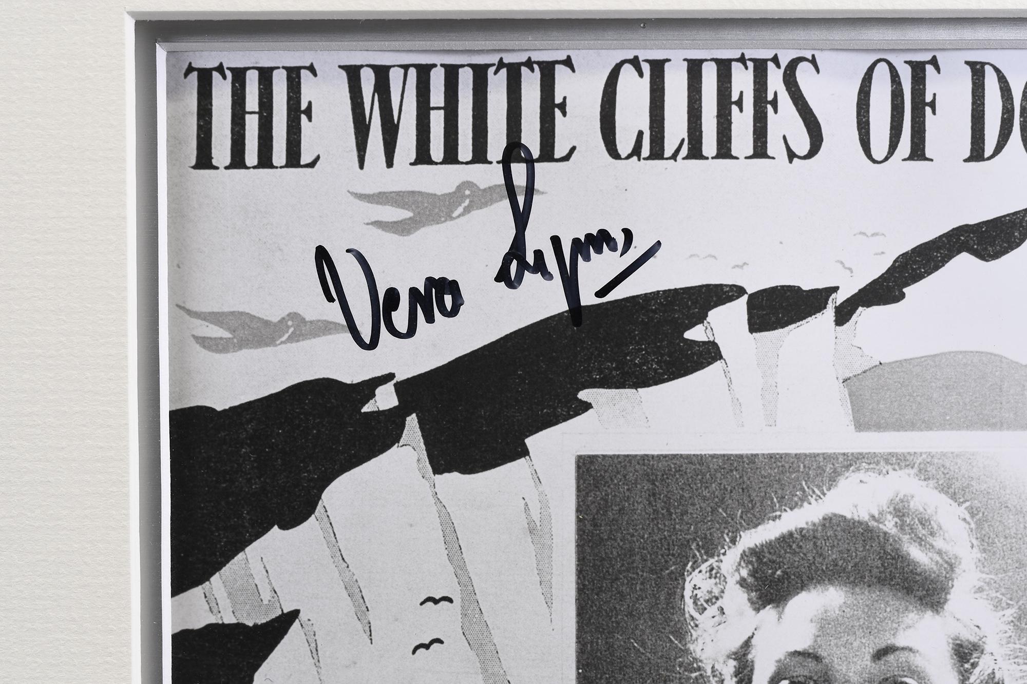 Signed Vera Lynn Framed Memorabilia - Image 4 of 5
