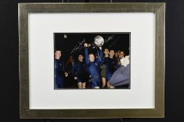 Framed Signed Photograph by some of the Winning Man Utd Team from the 1968 European Cup