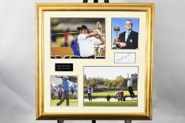 Paul Mcginley Framed Signature Presentation