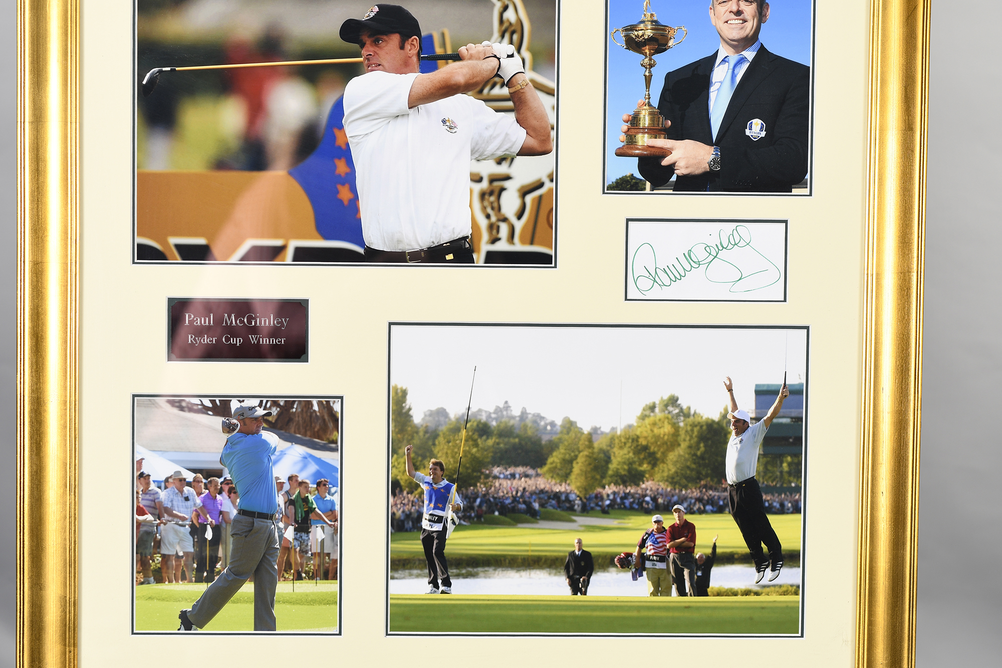 Paul Mcginley Framed Signature Presentation - Image 2 of 6