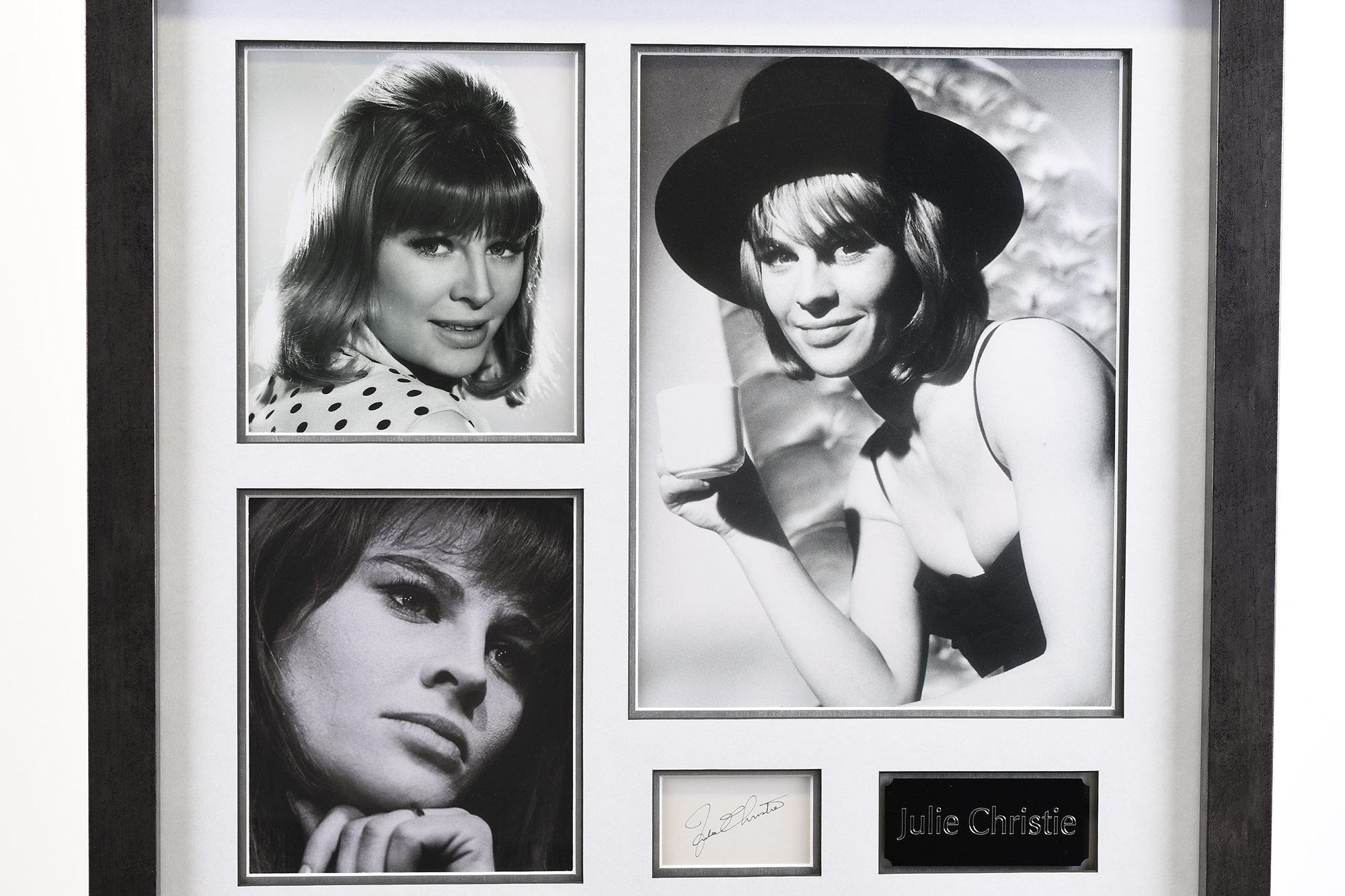 Julie Christie Memorabilia Framed Presentation - Image 2 of 7