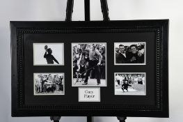 Gary Player Framed Memorabilia