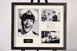 Kenneth Williams Framed Memorabilia