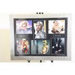 Lady Gaga Signed Photo Presentation