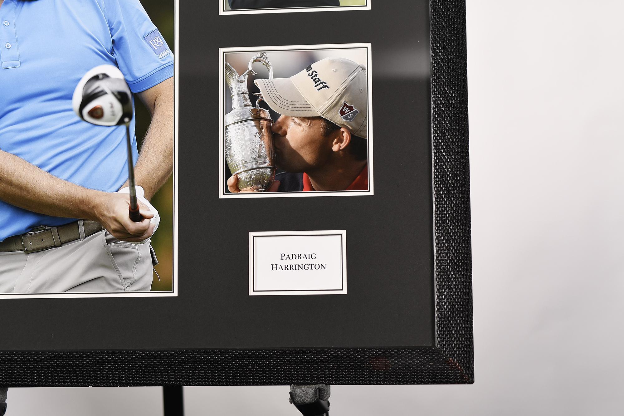 Padraig Harrington Framed Signature Presentation - Image 4 of 4