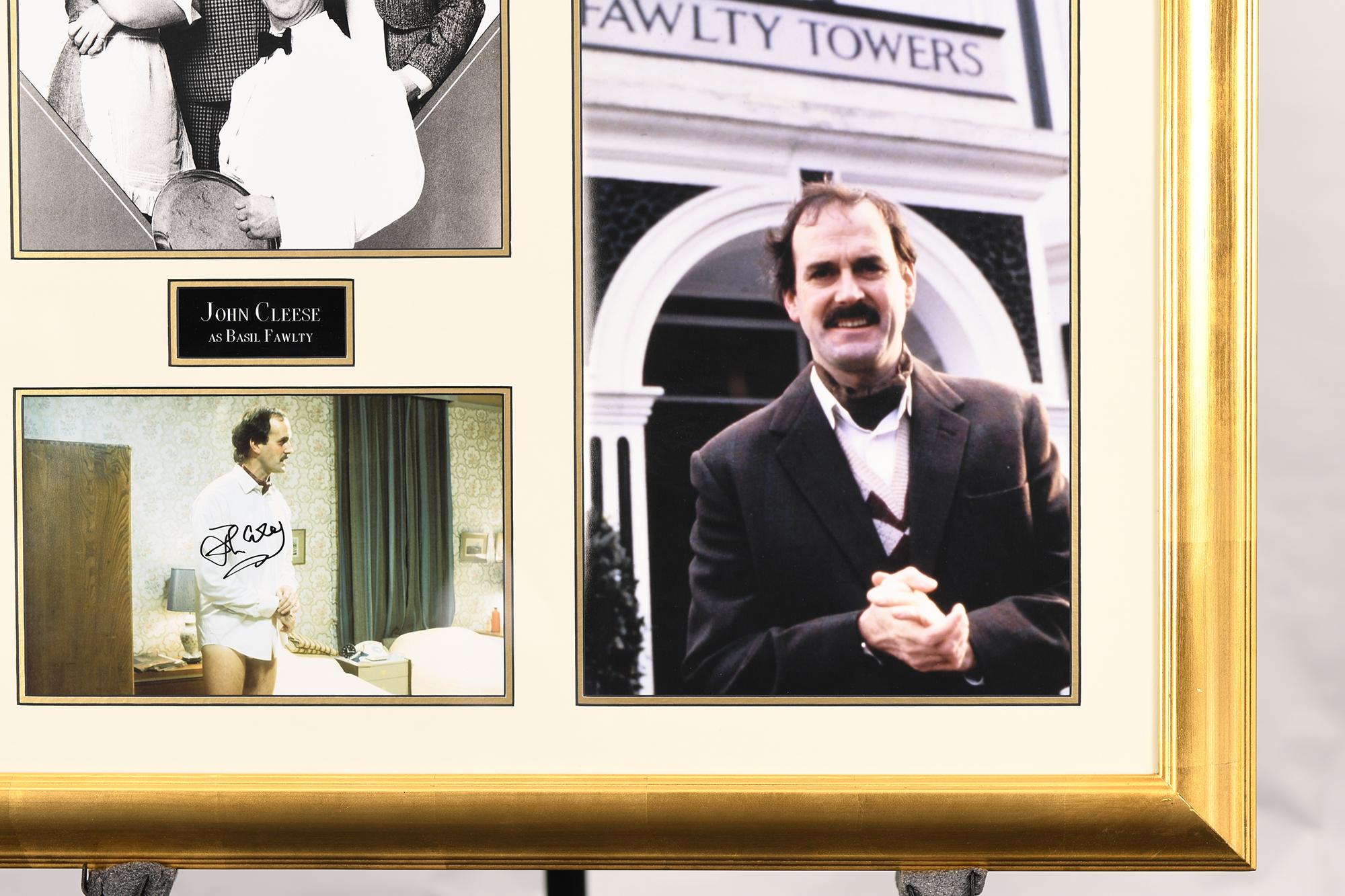 John Cleese Framed Memorabilia - Image 3 of 3