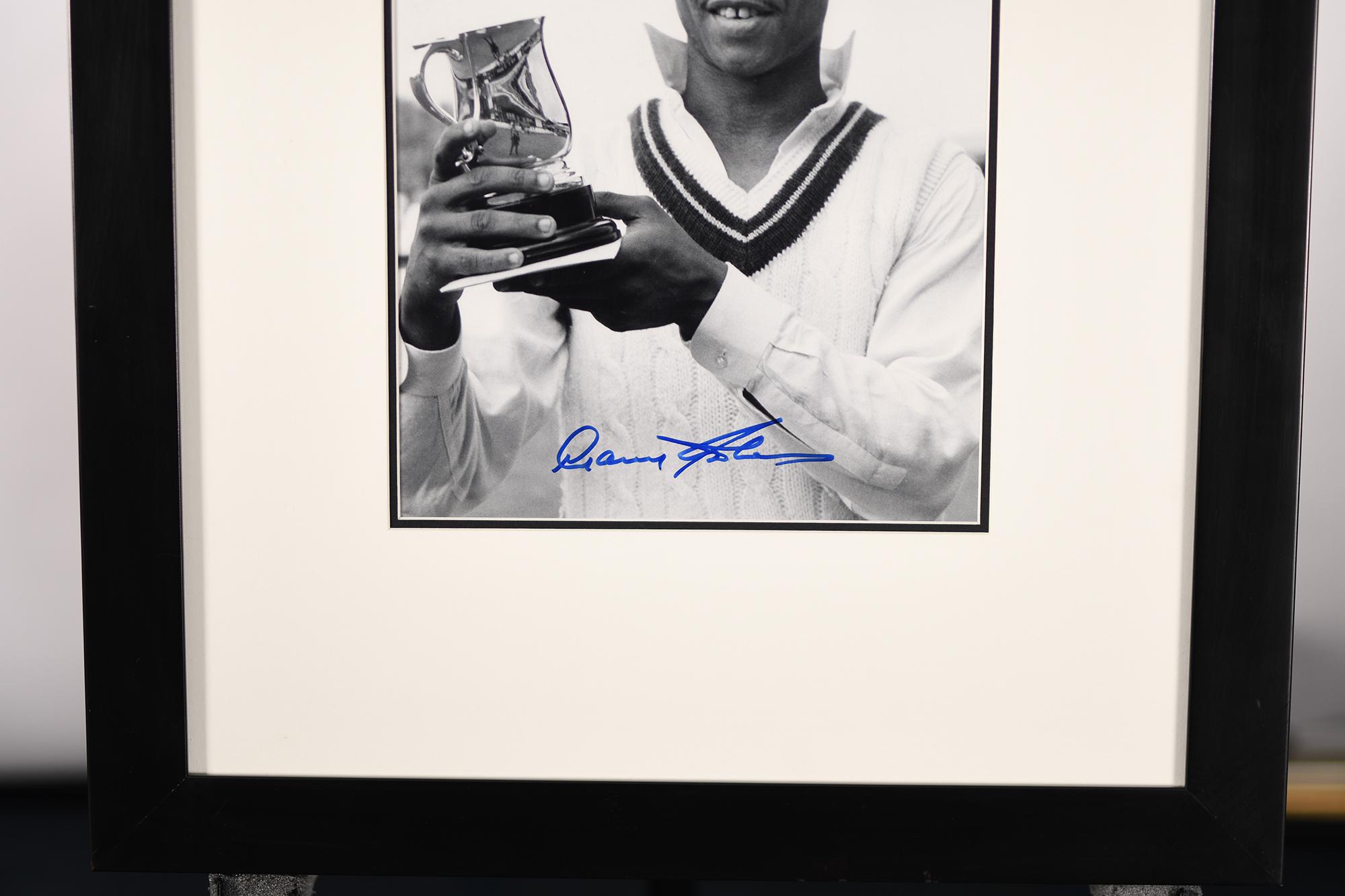 Gary Sobers Framed Signature Presentation - Image 3 of 3