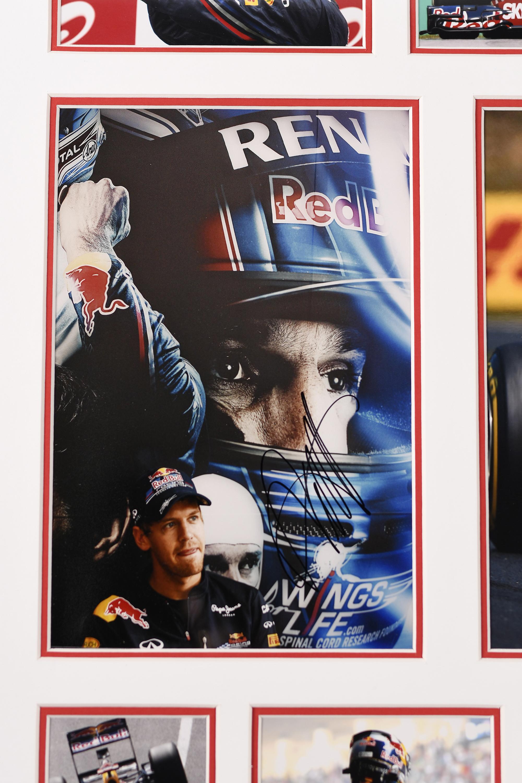 Sebastian Vettel Signed Presentation - Image 2 of 4