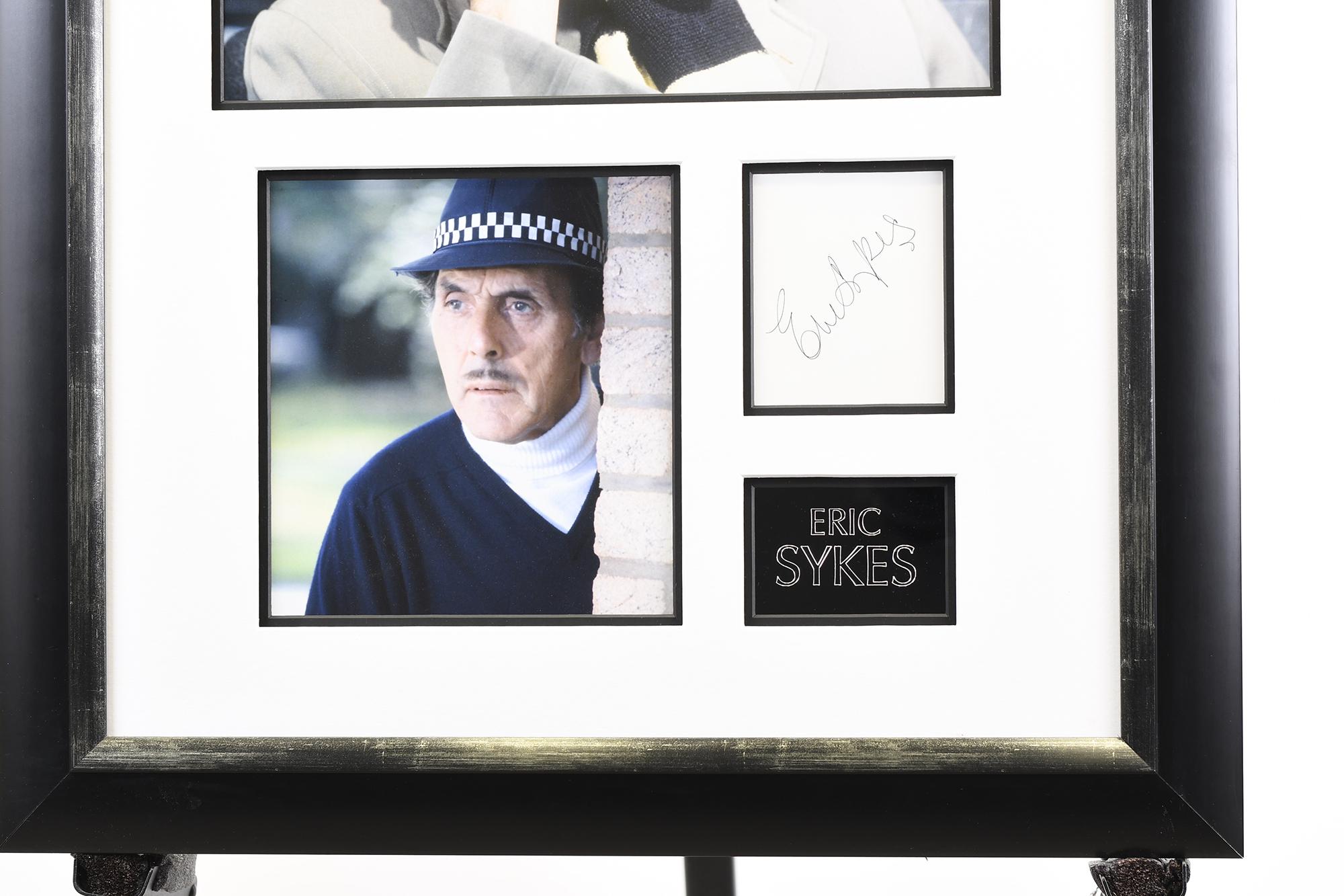 Eric Sykes Framed Memorabilia Presentation - Image 2 of 4