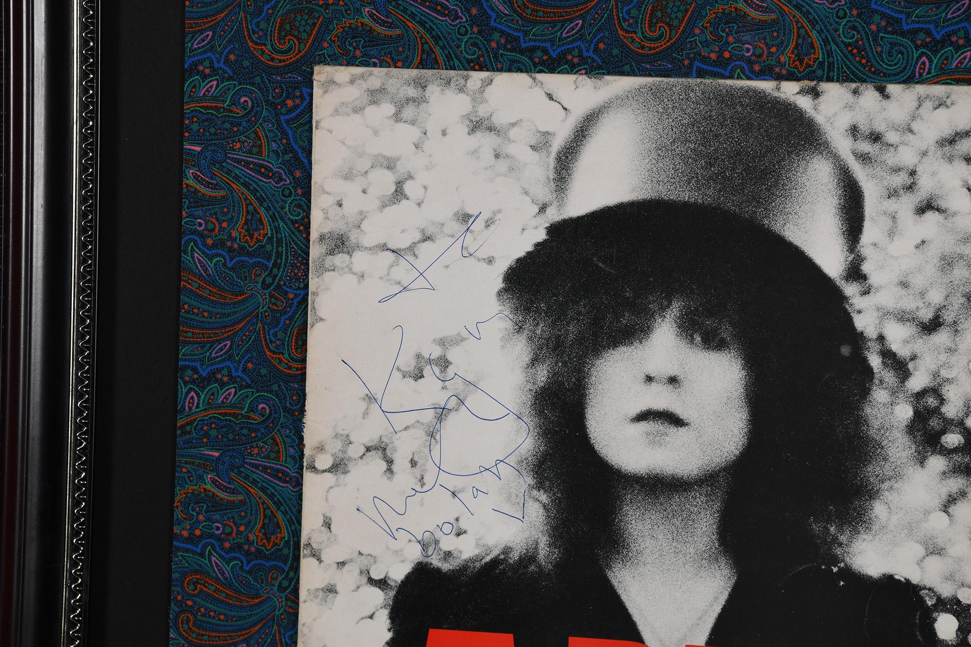 Marc Bolan Framed Signature Presentation - Image 3 of 3