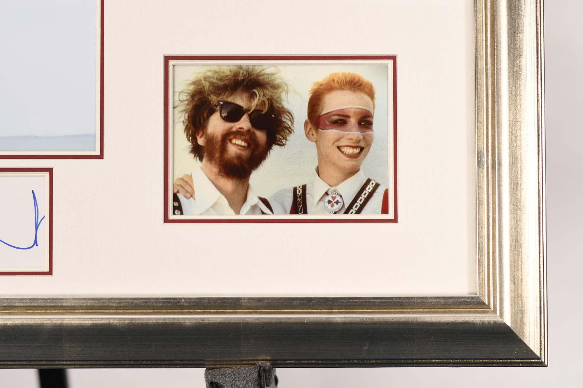 Dave Stewart Framed Signature Presentation - Image 3 of 4
