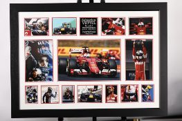 Sebastian Vettel Signed Presentation