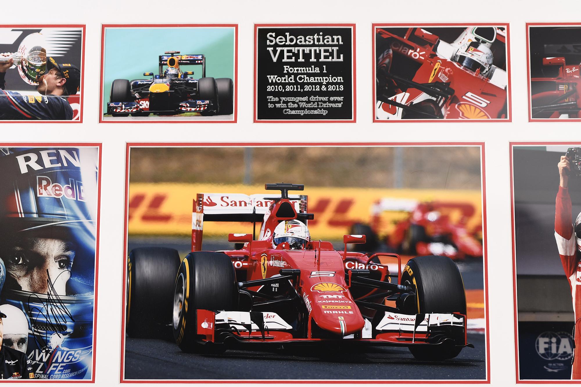 Sebastian Vettel Signed Presentation - Image 3 of 4