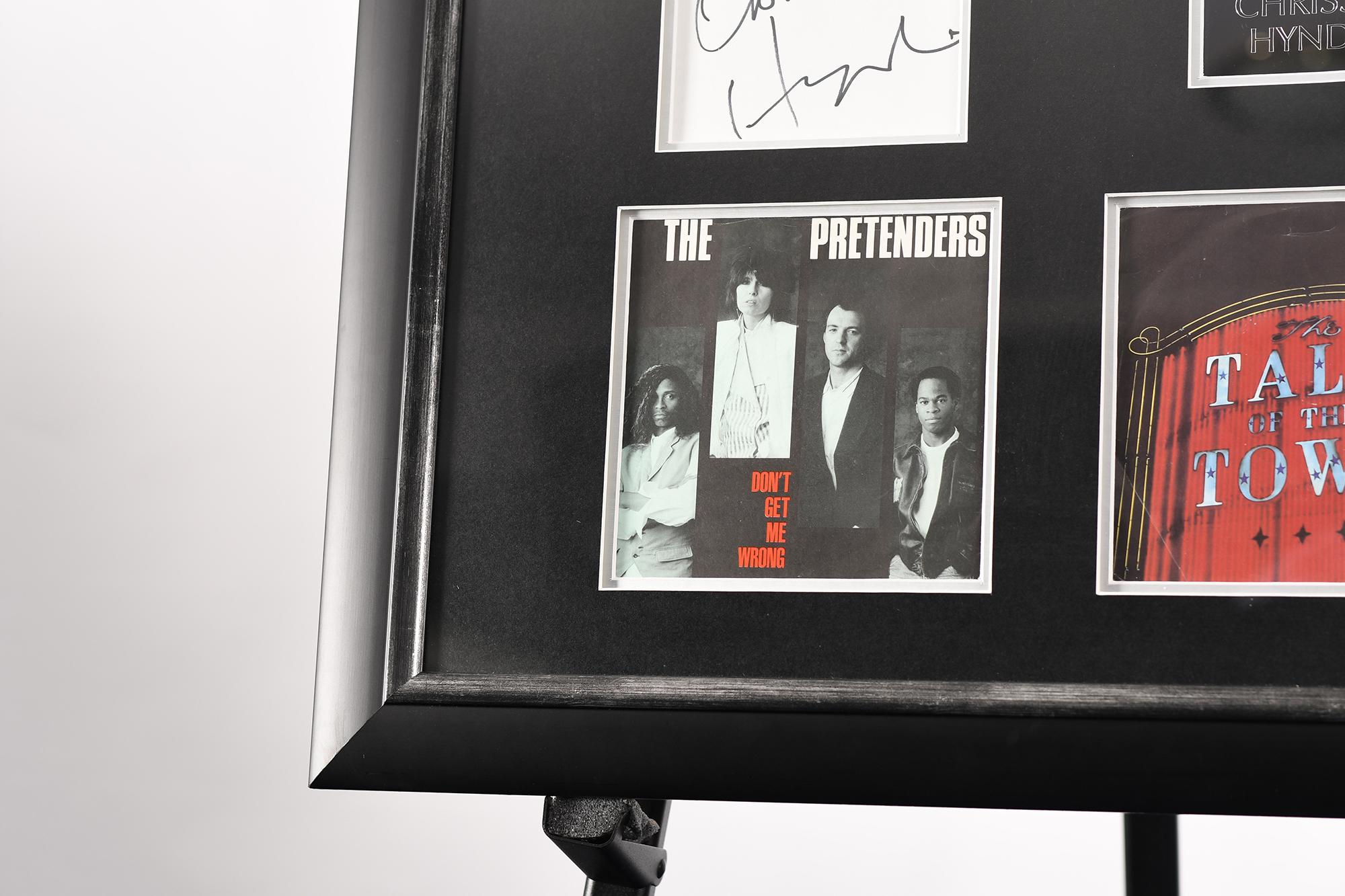 Framed Signed Chrissie Hynde Presentation - Image 4 of 4
