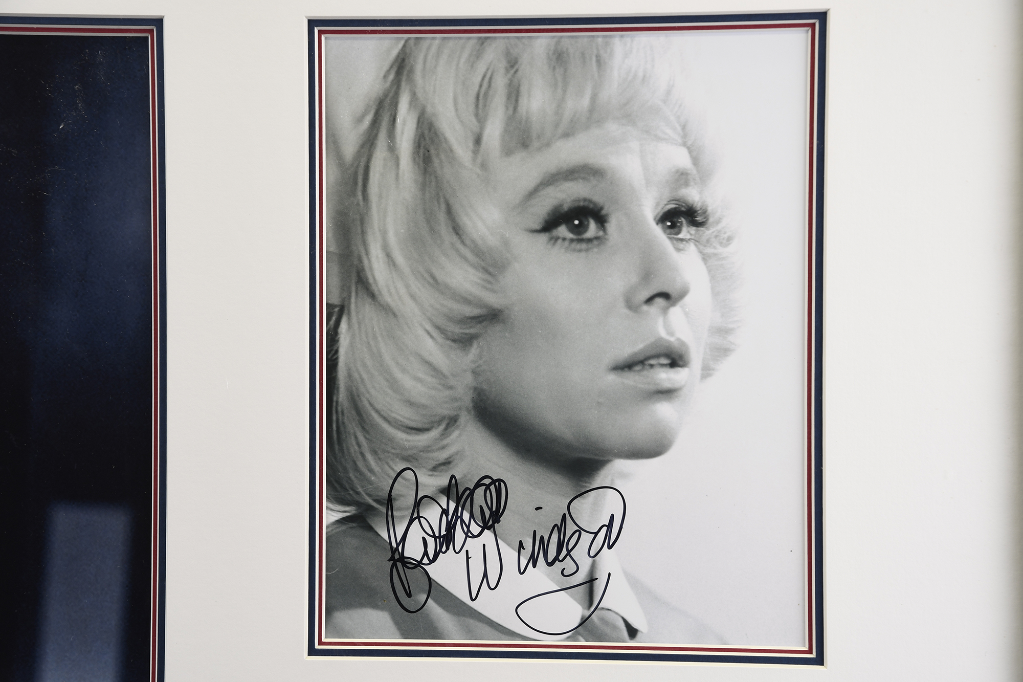 Barbara Windsor Signed Framed Memorabilia - Image 3 of 4