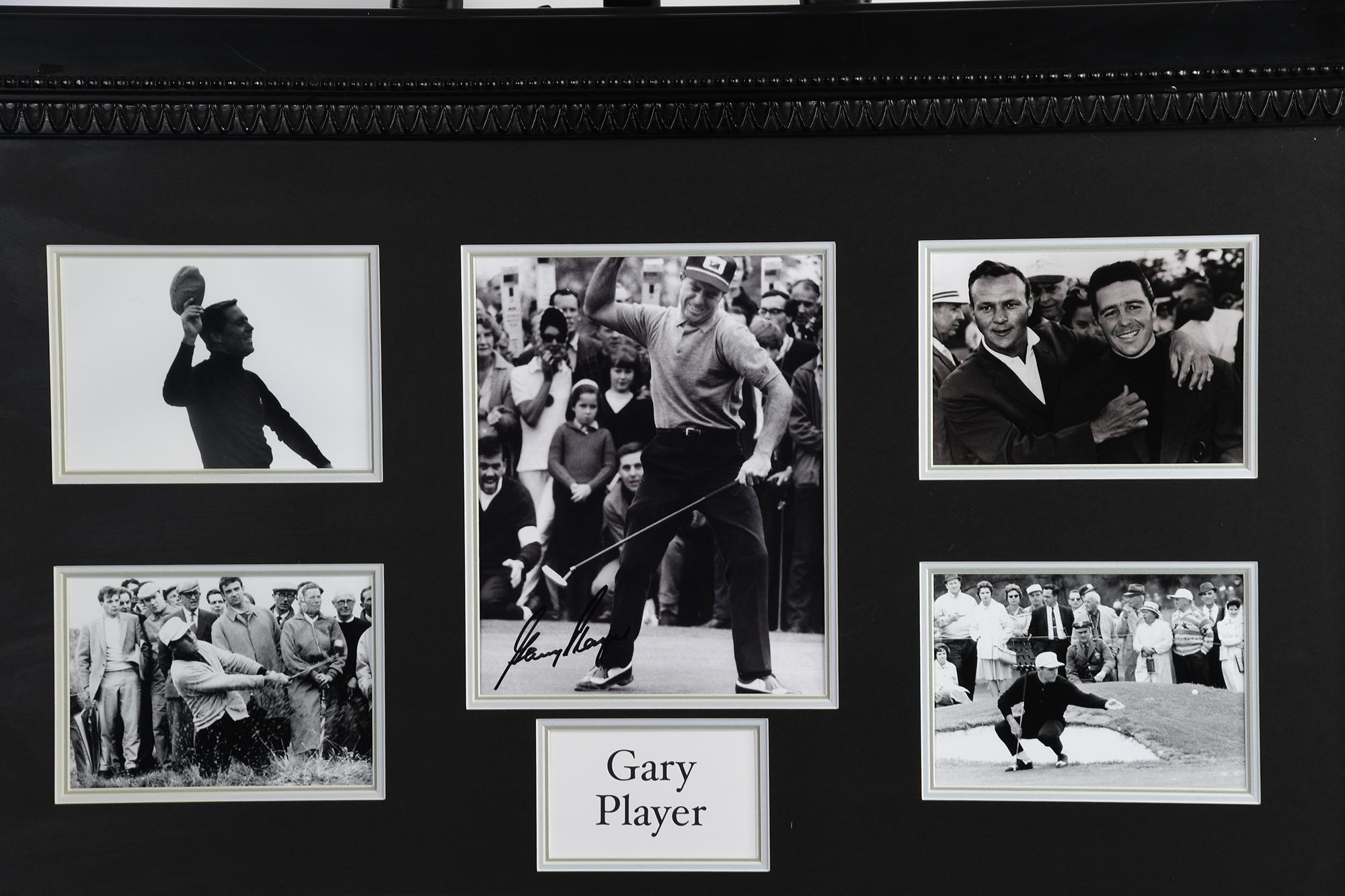 Gary Player Framed Memorabilia - Image 2 of 2