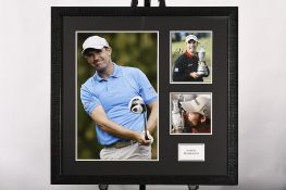 Padraig Harrington Framed Signature Presentation