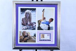 Brigitte Bardot Framed Memorabilia