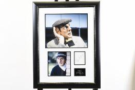 Eric Sykes Framed Memorabilia Presentation