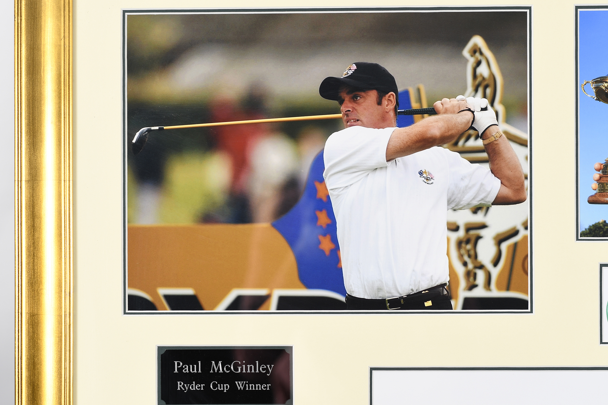 Paul Mcginley Framed Signature Presentation - Image 3 of 6