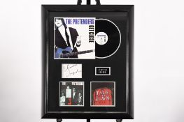 Framed Signed Chrissie Hynde Presentation