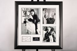 Leslie Phillips Framed Memorabilia