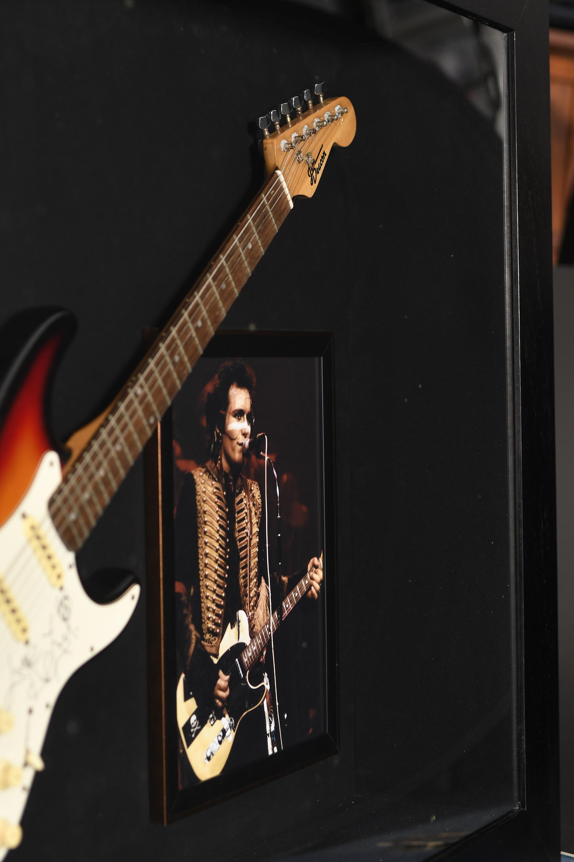 Adam Ant Framed Signed Guitar - Image 5 of 6