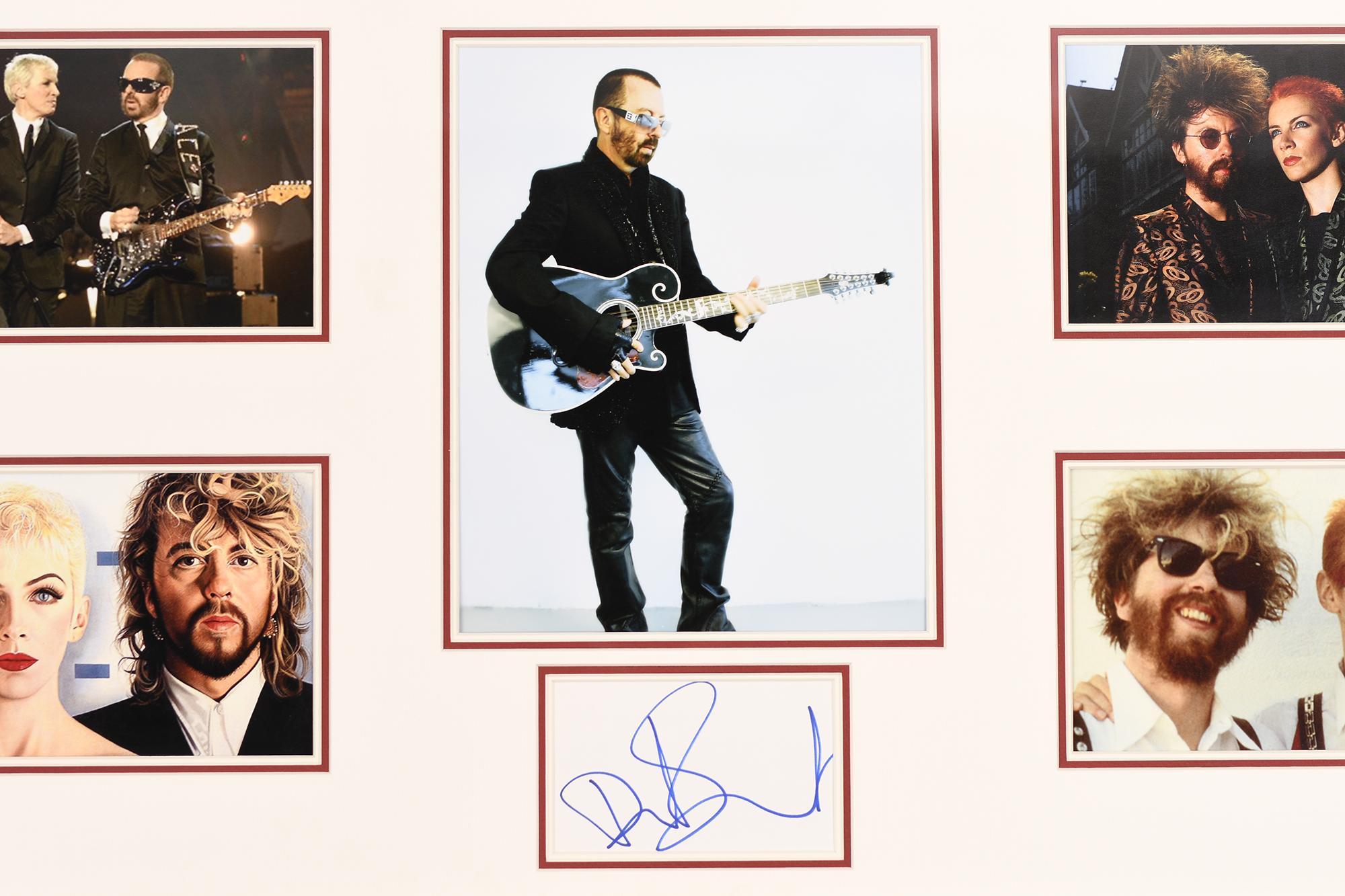 Dave Stewart Framed Signature Presentation - Image 2 of 4