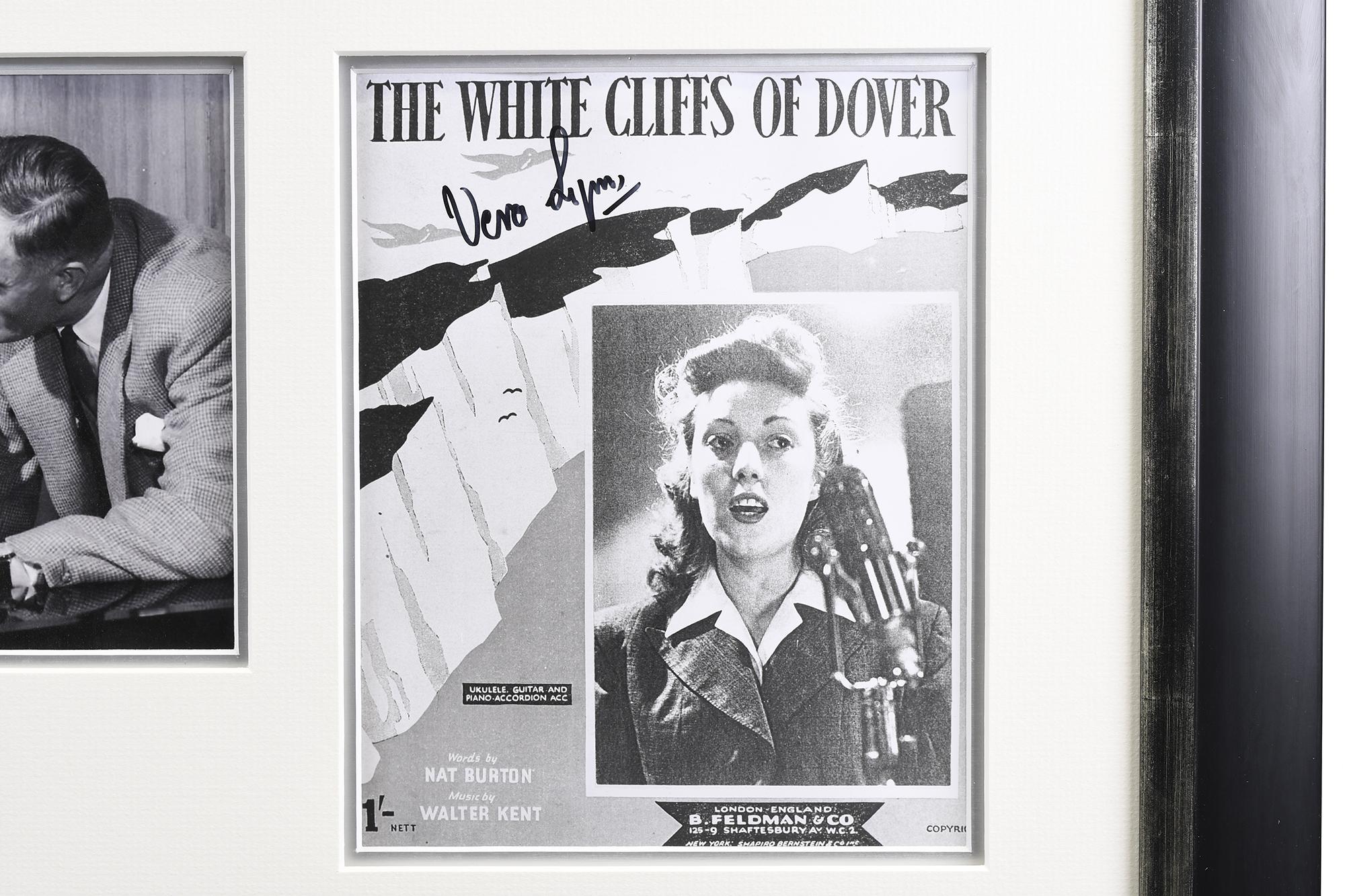 Signed Vera Lynn Framed Memorabilia - Image 3 of 5