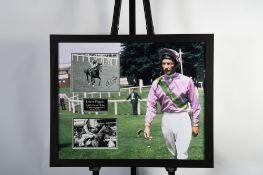Lester Piggott Framed Memorabilia