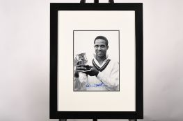 Gary Sobers Framed Signature Presentation