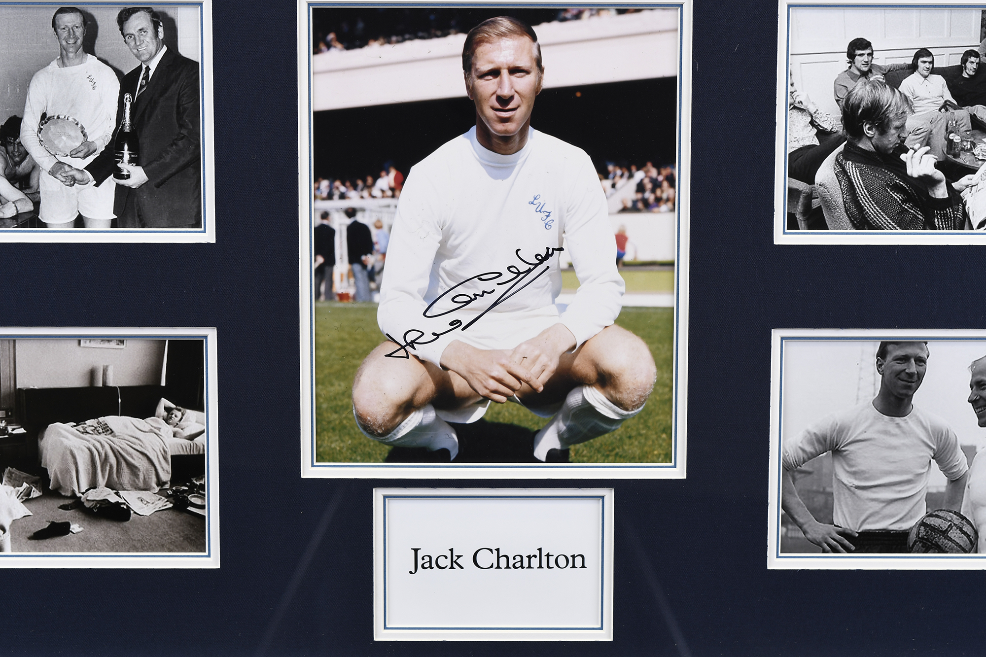 Jack Charlton Framed Presentation - Image 3 of 6