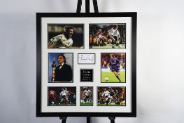 David Ginola Framed Signature Presentation