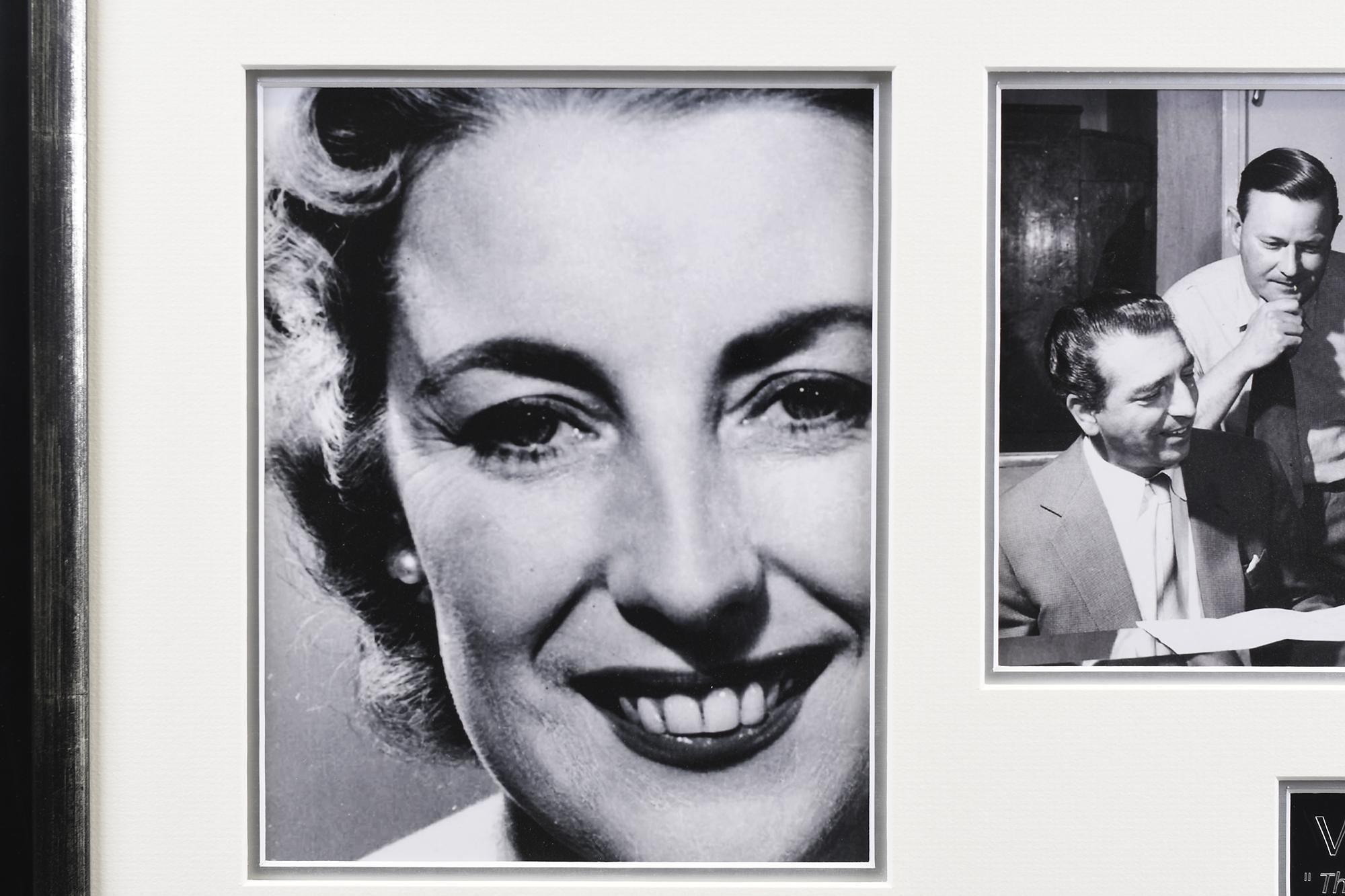 Signed Vera Lynn Framed Memorabilia - Image 5 of 5