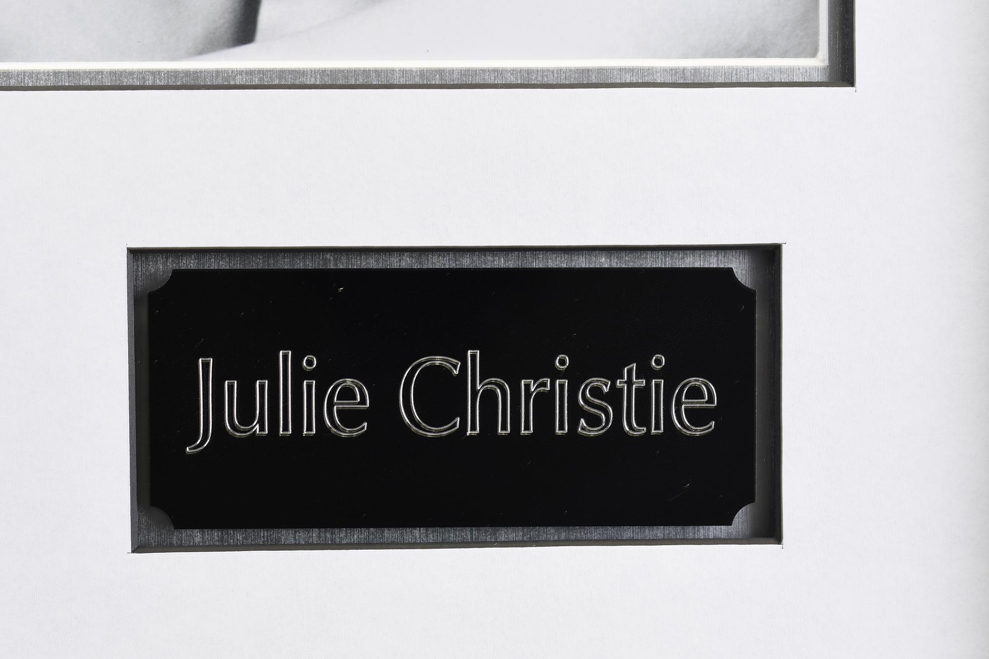 Julie Christie Memorabilia Framed Presentation - Image 6 of 7