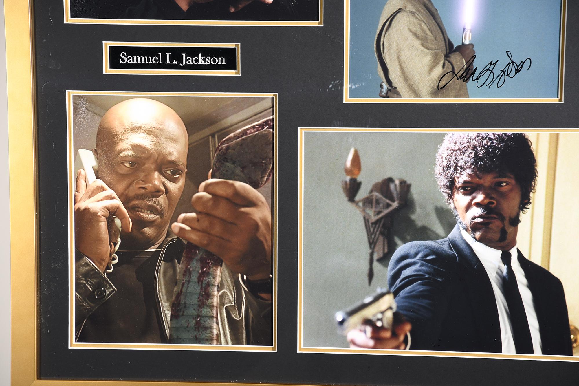 Samuel L Jackson Framed Signature Presentation - Image 3 of 4